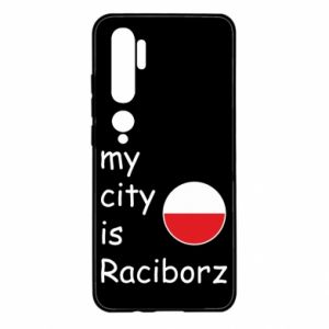 Etui na Xiaomi Mi Note 10 My city is Raciborz