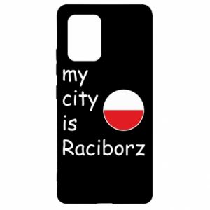 Etui na Samsung S10 Lite My city is Raciborz