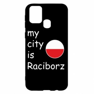 Etui na Samsung M31 My city is Raciborz