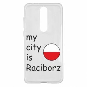 Etui na Nokia 5.1 Plus My city is Raciborz