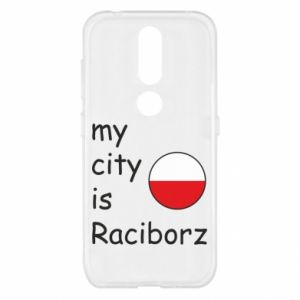 Etui na Nokia 4.2 My city is Raciborz