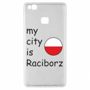 Huawei P9 Lite Case My city is Raciborz