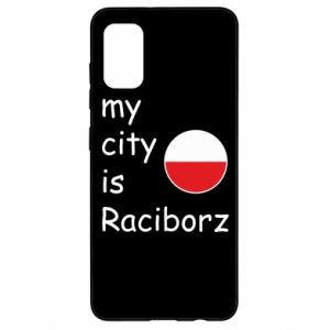 Etui na Samsung A41 My city is Raciborz