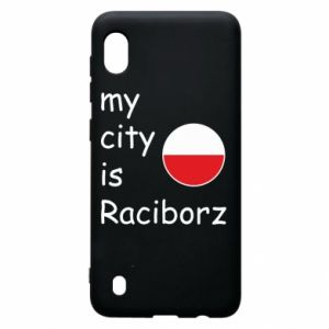 Etui na Samsung A10 My city is Raciborz
