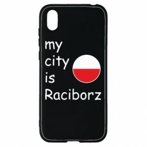 Etui na Huawei Y5 2019 My city is Raciborz