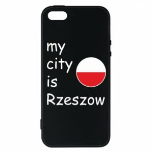 Etui na iPhone 5/5S/SE My city is Rzeszow