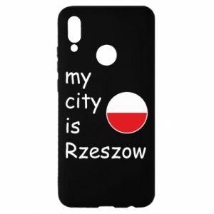 Huawei P Smart 2019 Case My city is Rzeszow