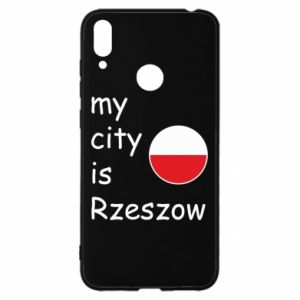Huawei Y7 2019 Case My city is Rzeszow