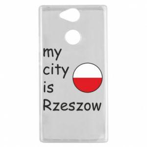 Sony Xperia XA2 Case My city is Rzeszow