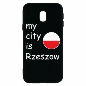 Etui na Samsung J3 2017 My city is Rzeszow