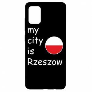 Samsung A51 Case My city is Rzeszow