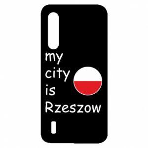 Xiaomi Mi9 Lite Case My city is Rzeszow