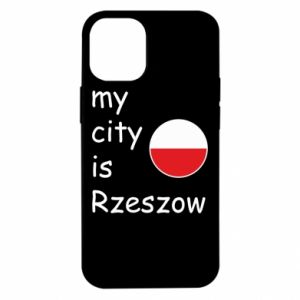 iPhone 12 Mini Case My city is Rzeszow
