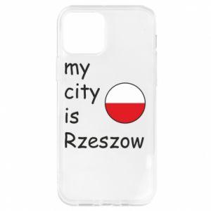 iPhone 12/12 Pro Case My city is Rzeszow