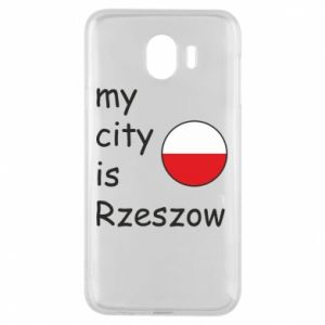 Samsung J4 Case My city is Rzeszow