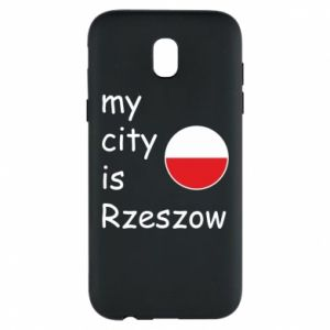 Etui na Samsung J5 2017 My city is Rzeszow
