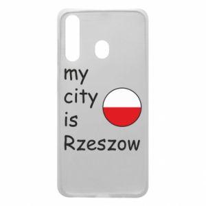 Samsung A60 Case My city is Rzeszow