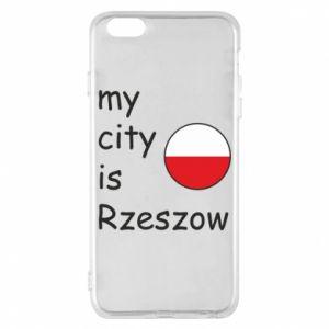 Etui na iPhone 6 Plus/6S Plus My city is Rzeszow