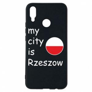 Etui na Huawei P Smart Plus My city is Rzeszow