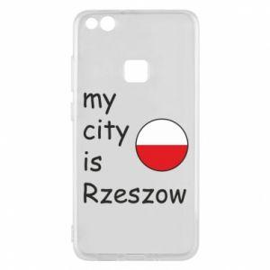 Huawei P10 Lite Case My city is Rzeszow