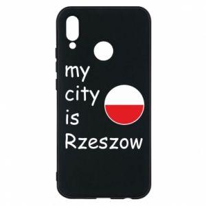 Etui na Huawei P20 Lite My city is Rzeszow