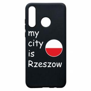 Huawei P30 Lite Case My city is Rzeszow
