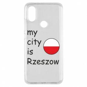 Etui na Xiaomi Mi A2 My city is Rzeszow