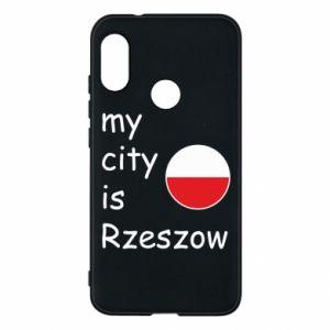 Mi A2 Lite Case My city is Rzeszow