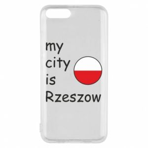 Etui na Xiaomi Mi6 My city is Rzeszow