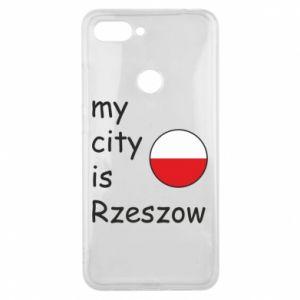 Xiaomi Mi8 Lite Case My city is Rzeszow