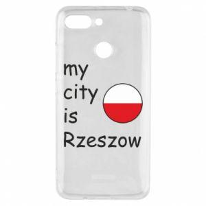 Etui na Xiaomi Redmi 6 My city is Rzeszow