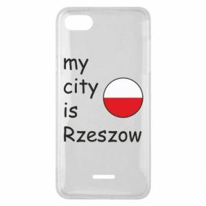 Etui na Xiaomi Redmi 6A My city is Rzeszow