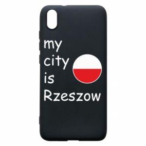 Etui na Xiaomi Redmi 7A My city is Rzeszow