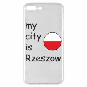 Etui na iPhone 7 Plus My city is Rzeszow