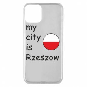 iPhone 11 Case My city is Rzeszow