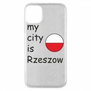 Etui na iPhone 11 Pro My city is Rzeszow