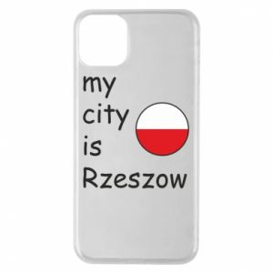 Etui na iPhone 11 Pro Max My city is Rzeszow