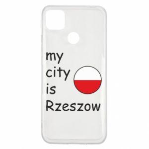 Etui na Xiaomi Redmi 9c My city is Rzeszow