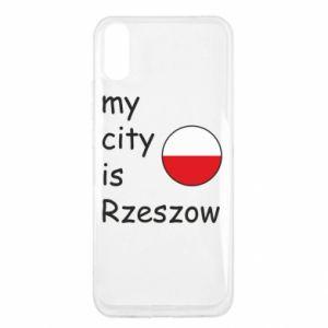 Xiaomi Redmi 9a Case My city is Rzeszow