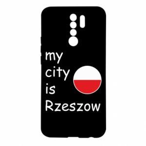 Xiaomi Redmi 9 Case My city is Rzeszow