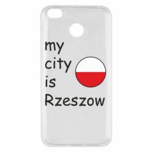 Xiaomi Redmi 4X Case My city is Rzeszow