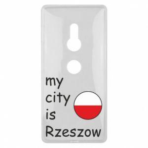 Sony Xperia XZ2 Case My city is Rzeszow