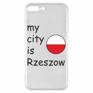 Etui na iPhone 8 Plus My city is Rzeszow
