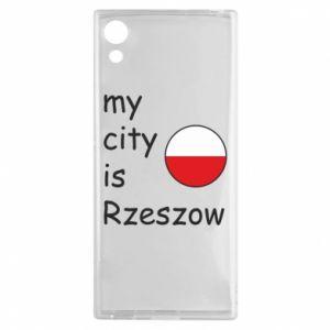 Sony Xperia XA1 Case My city is Rzeszow