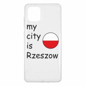 Samsung Note 10 Lite Case My city is Rzeszow
