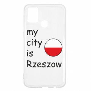 Samsung M31 Case My city is Rzeszow