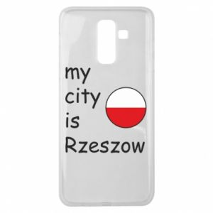 Samsung J8 2018 Case My city is Rzeszow