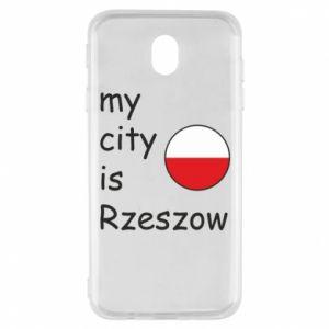 Samsung J7 2017 Case My city is Rzeszow