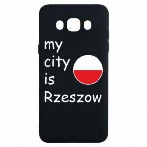 Samsung J7 2016 Case My city is Rzeszow