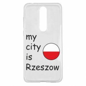 Nokia 5.1 Plus Case My city is Rzeszow